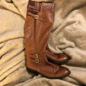Women's gently used brown boots